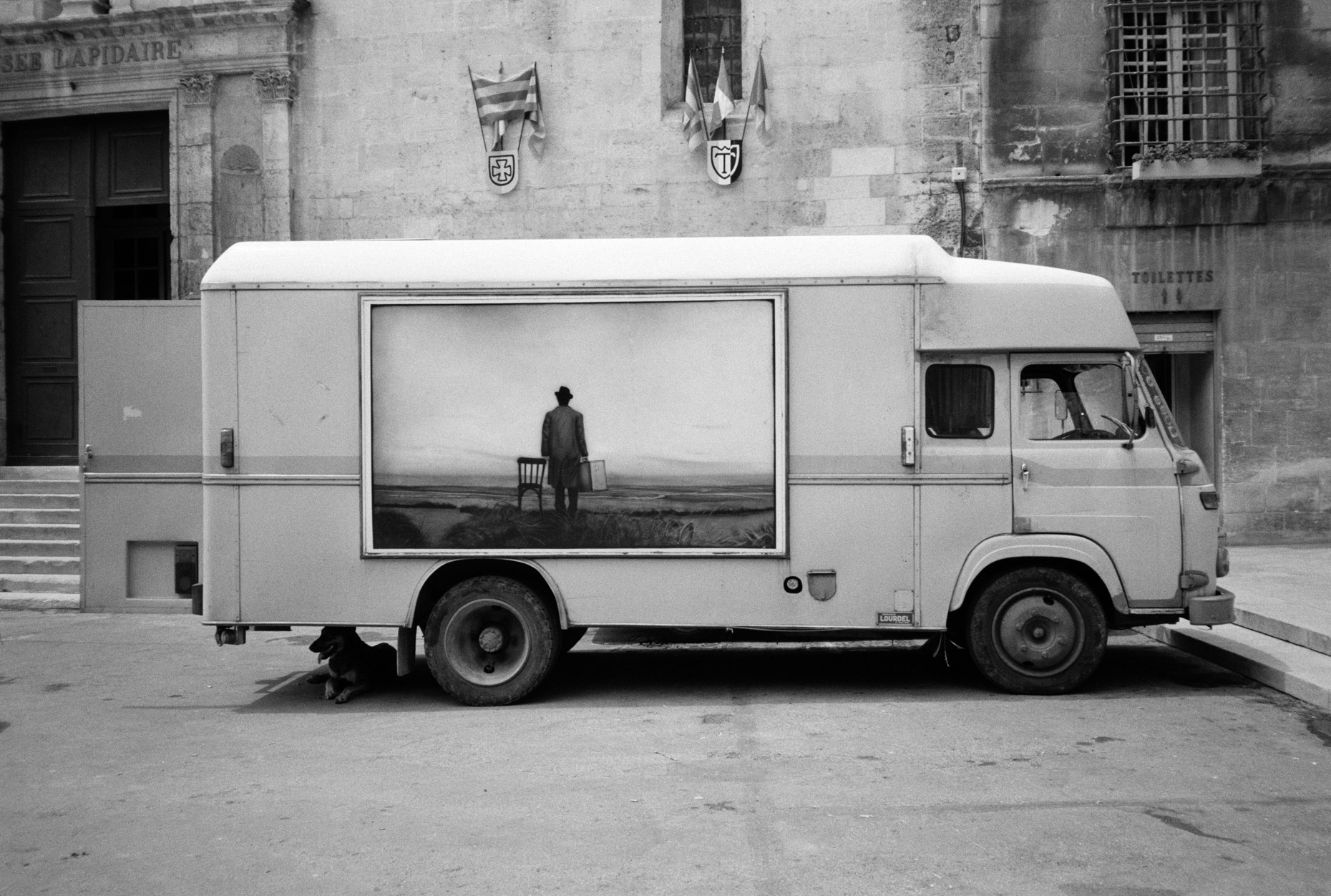 Painted Truck, Place de la Republique, Arles