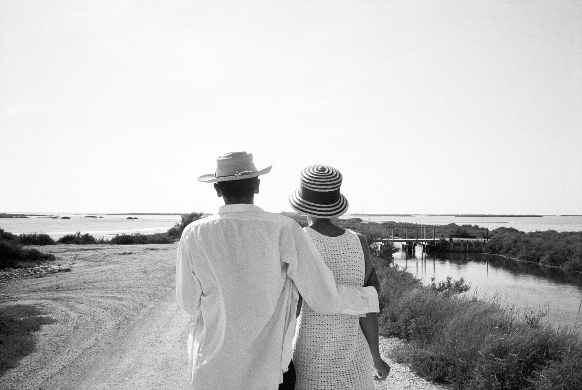 Olivia and Fernando, the Camargue