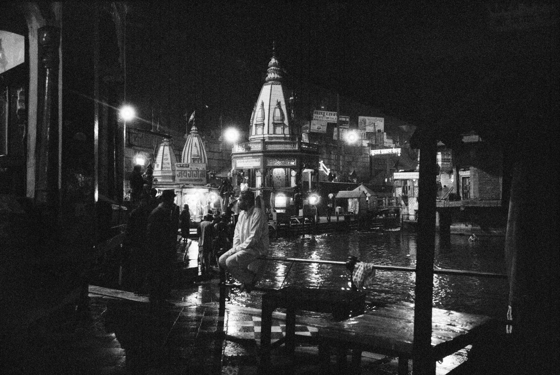 Puja in the Ganga, Haridwar