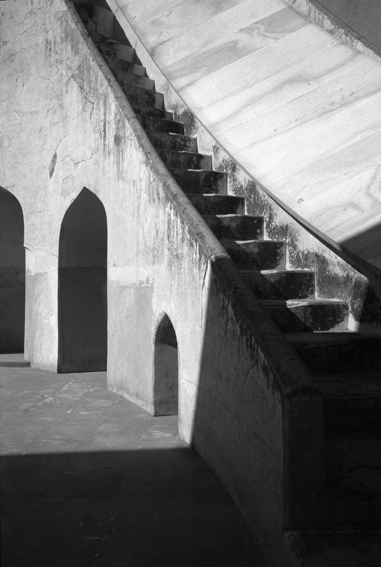 Staircase at Jaipur Observatory